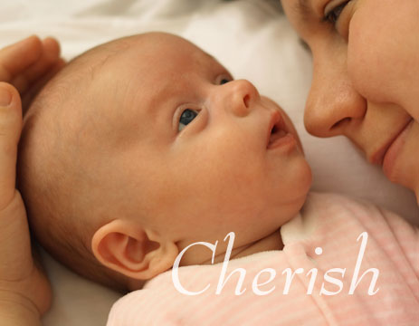 Cherish Baby with Mom